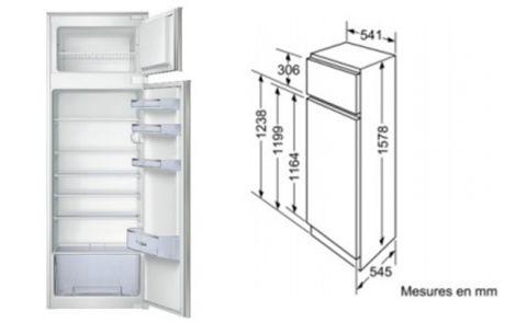 FOUCHARD - Réfrigérateur BOSCH KID 28 V 20 FF