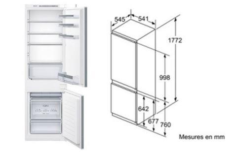 FOUCHARD - Réfrigérateur SIEMENS KI 86 VVS 30