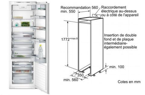 FOUCHARD - Réfrigérateur SIEMENS KI 42 FP 60