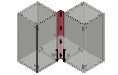 FOUCHARD - Fileur haut d'angle 90° (alignement corps)