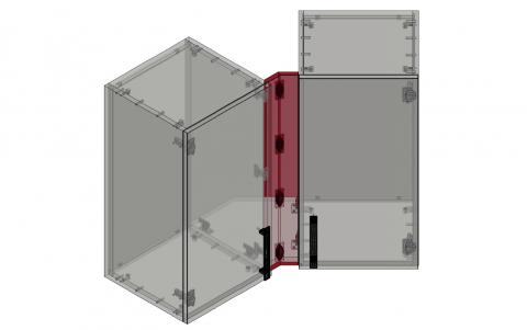 FOUCHARD - Fileur haut d'angle 135° (alignement corps)