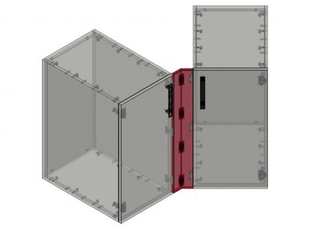 FOUCHARD - Fileur bas d'angle 135° (alignement façade)