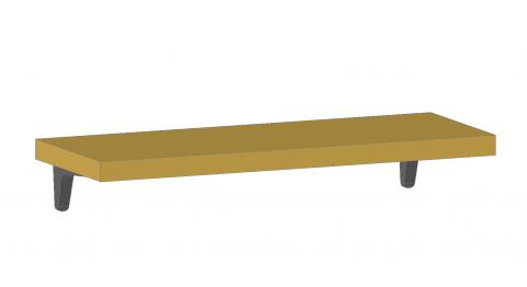 FOUCHARD - Tablette fixe sur consoles