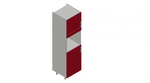 FOUCHARD - Armoire four réfrigérateur