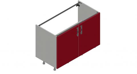 FOUCHARD - Meuble sous évier 2 portes