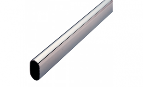 FOUCHARD - Tube de penderie ovale 15X30 L3,00M