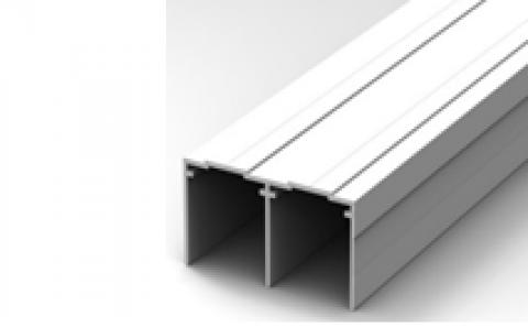 FOUCHARD - Rail haut PVC L.2,60M