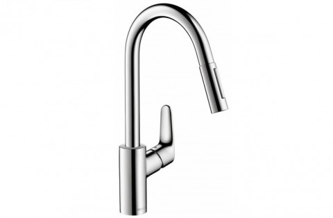 FOUCHARD - Mitigeur évier à douchette extractible HANSGROHE