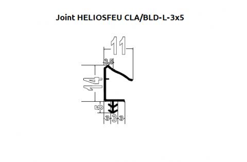 FOUCHARD - Joint CLA/BLD-L 3x5 SpécialFeu